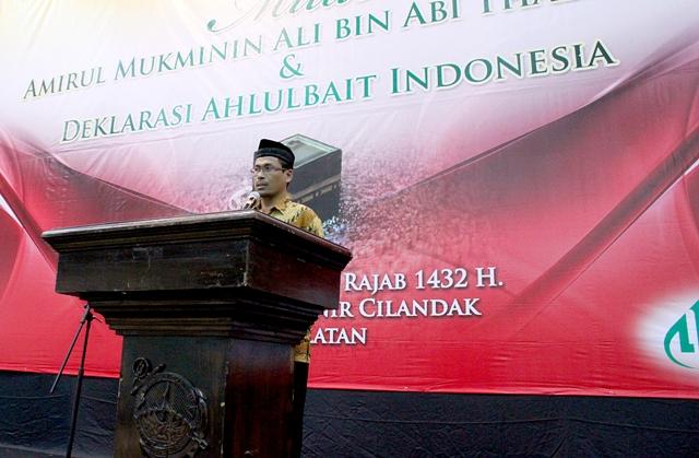 Pidato Deklarasi DPP Ahlulbait Indonesia