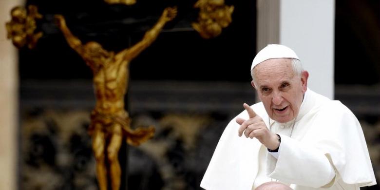 Paus Desak G-20: Singkirkan Tentara Kalian dari Suriah