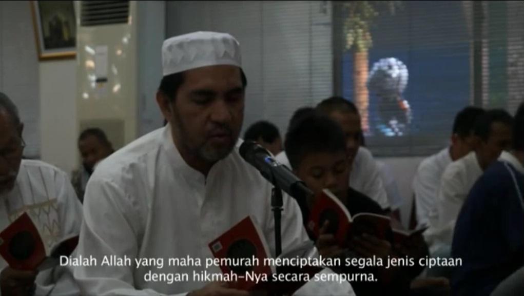doa arafah di ICC