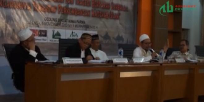 Seminar Polemik Kepemimpinan & Tragedi Berdarah Karbala