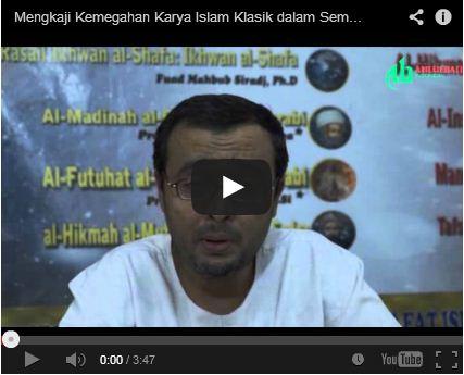 Mengkaji Kemegahan Karya Islam Klasik dalam Seminar Filsafat
