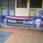 Kronologi Pencopotan Spanduk Provokatif Anti Syiah di Pemalang