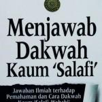 Resensi Buku Menjawab Dakwah Kaum Salafi