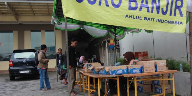 Posko Peduli Korban Banjir Ormas Islam Ahlulbait Indonesia