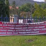 Demo Anti Wahabi/Salafi di Batam