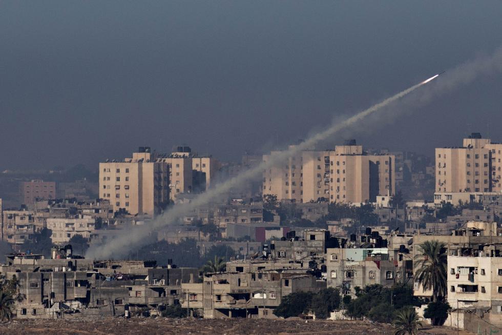 Roket Hamas Hantam Israel