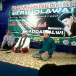 Banjarnegara Bershalawat bersama Haddad Alwi