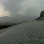 Debu Vulkanis dari Letusan Gunung Kelud