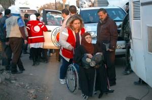 Pengungsi Homs (Evakuasi Warga Homs)