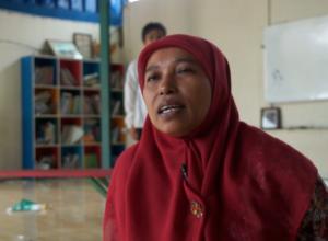 Siti Arwah Nasution relawan Sekolah MASTER