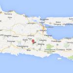 Gunung Kelud di Kediri-Jawa Timur