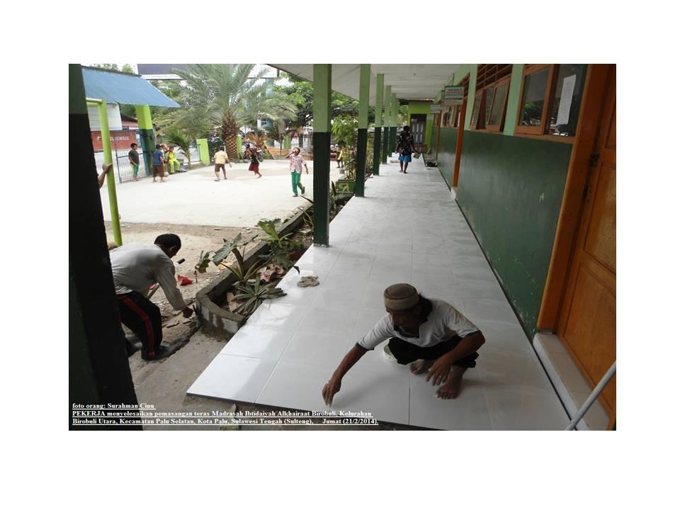 Rehab Sekolah Kerjasama DPW ABI Sulteng & RCTI Peduli