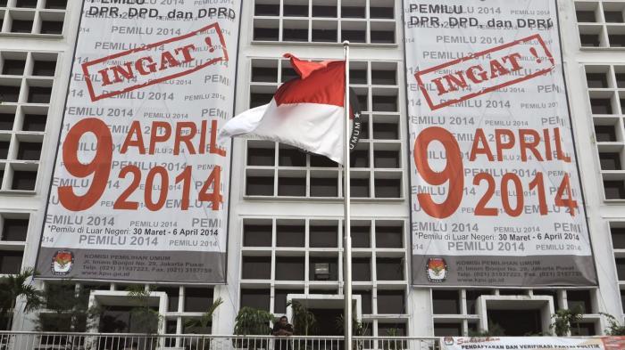 KPU Kampanye 9 April 2014