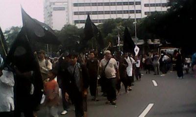 Long March pendukung ISIS di Indonesia