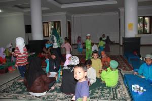 Pengajian di Masjid Al-Mahdy