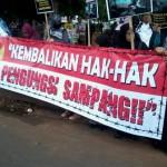 Demo Solidaritas Pengungsi Muslim Syiah Sampang