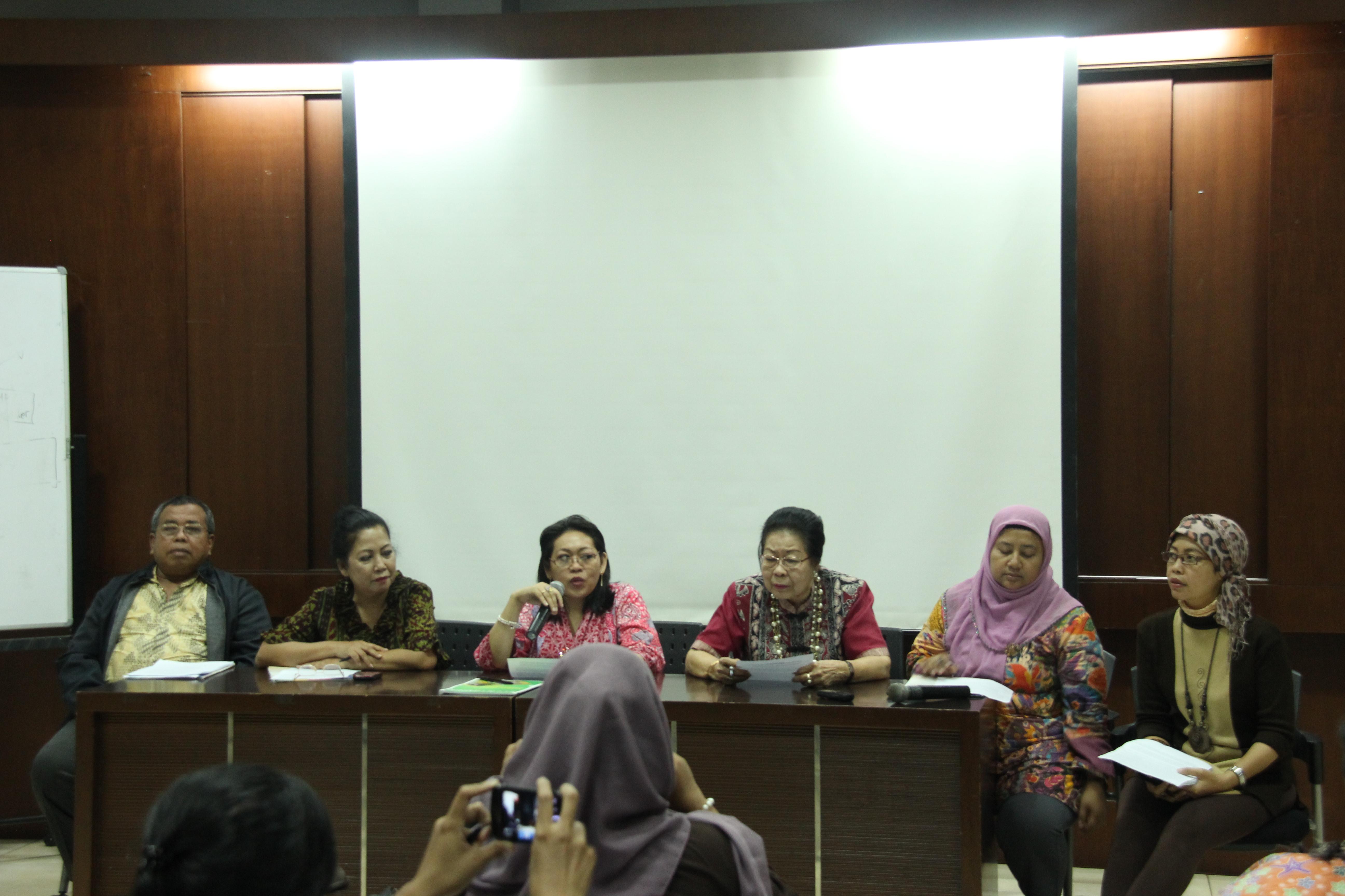 Lintas Iman Tuntut DPR Segera Sahkan RUU Kesetaraan dan Keadilan Gender