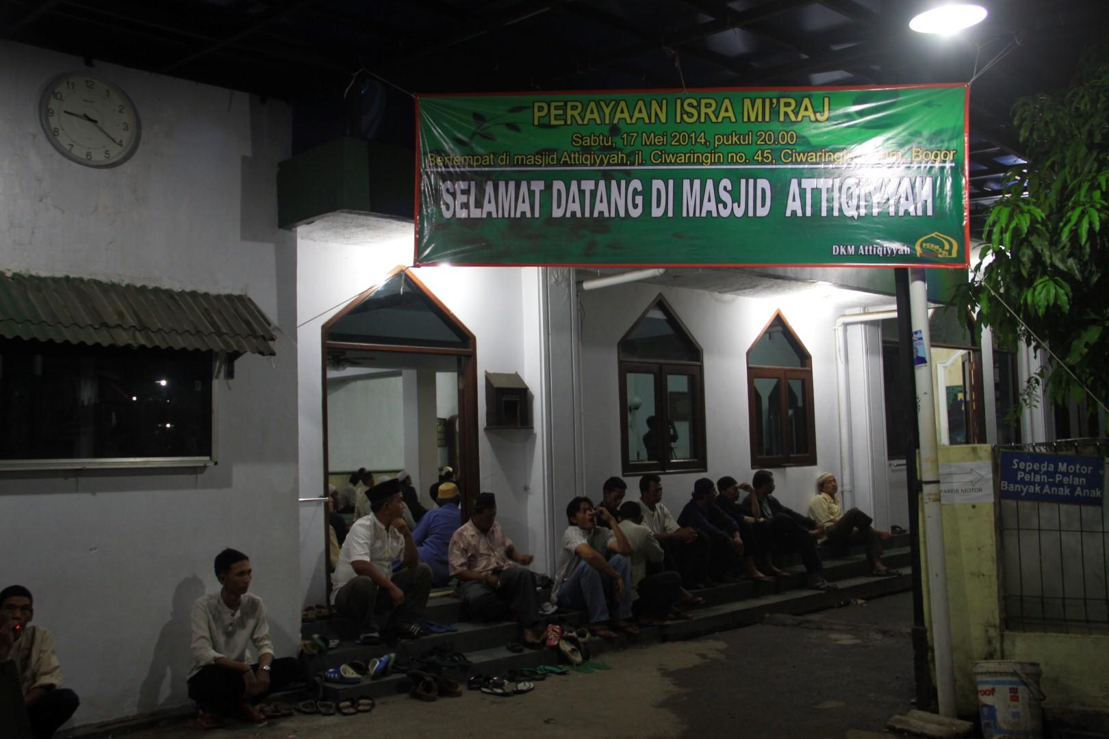 Isra' Mi'raj Bersama Permabi-DKM Al-Atiqiyah Bogor