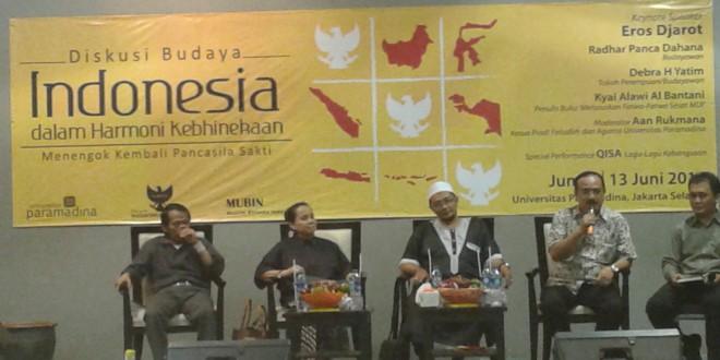 Diskusi Budaya: Menguatkan Prinsip Kebhinekaan