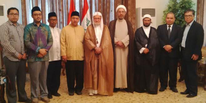 Pertemuan delegasi Ahlulbait Indonesia (ABI) dengan Lembaga Waqaf Syiah