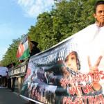 Aksi Solidaritas Gerakan Anti Zionis dan Amerika (GAZA) Sulteng Untuk Palestina