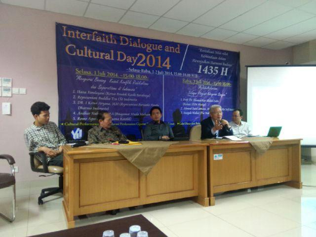 Dialog Antar Iman Himahi UIN Jakarta Lahirkan Deklarasi Ciputat