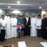 Silaturahmi Dua Hafidz Mansyuri ke Habib Rizieq dan Ustad Yusuf Mansyur