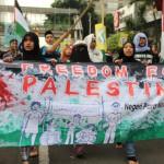 Demo Solidaritas Palestina