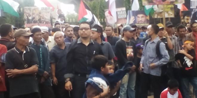 Demo Solidaritas Muslim Indonesia untuk Al Quds (SMIQ) Di Pusat Kota Semarang