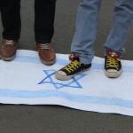 Foto: Demo Voice of Palestine dan HMI di PBB