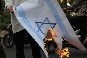 Aksi Solidaritas Dukung Palestina Merdeka di Jakarta
