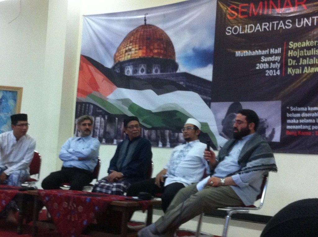 Seminar Solidaritas Palestina
