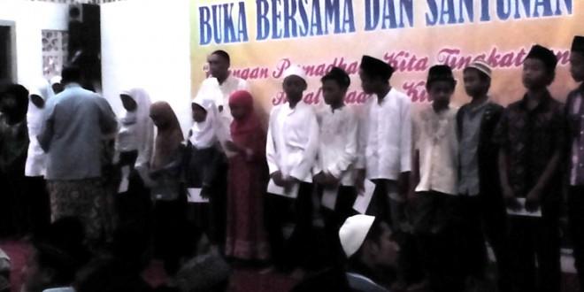Yayasan Sallimna Semarang Santuni Anak Yatim dan Dhuafa