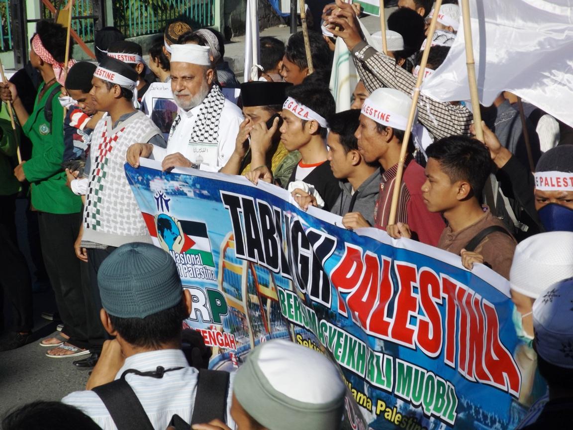 Ulama Palestina Kunjungi Palu Galang Dukungan Warga Sulawesi Tengah