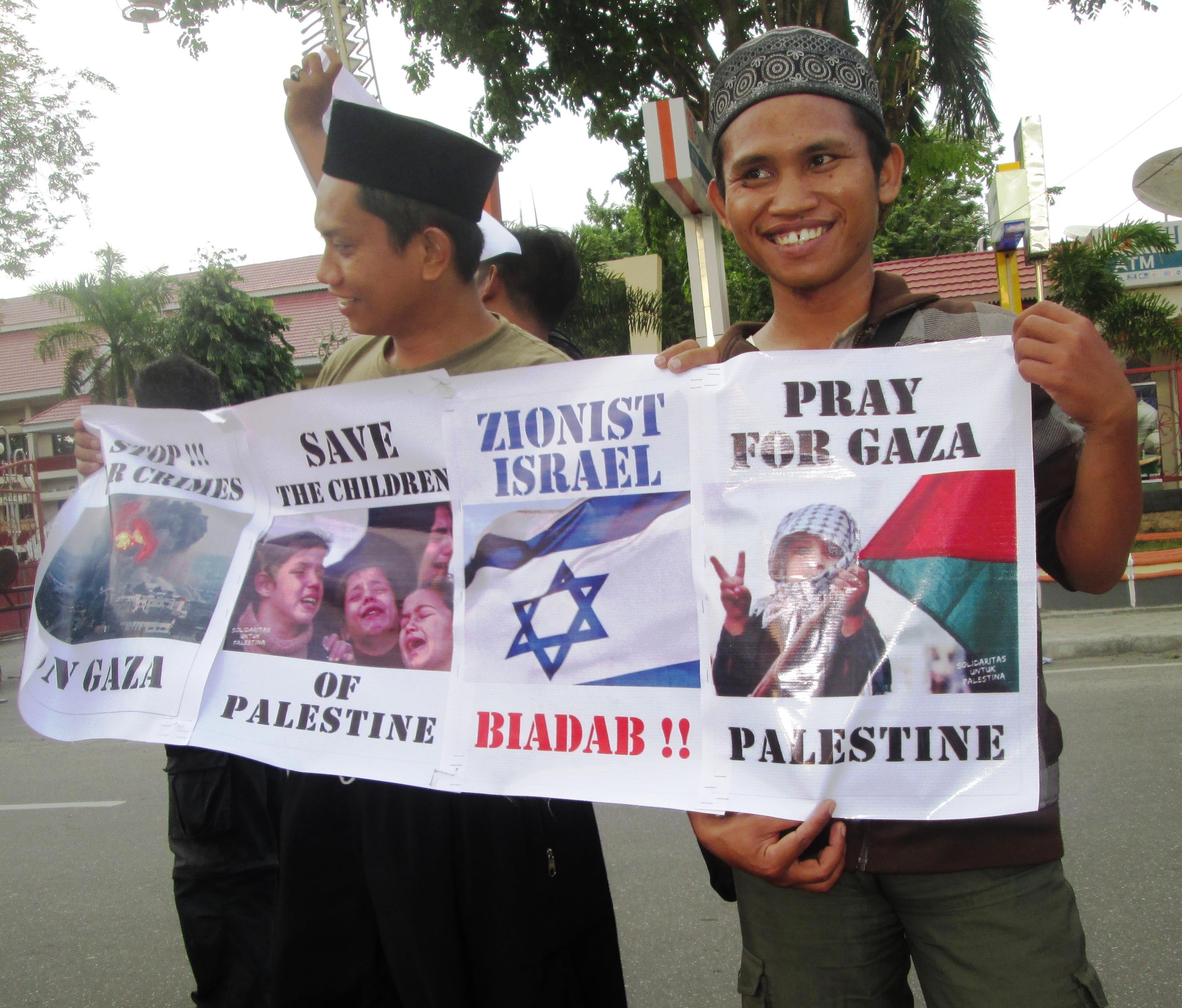 Galang Dana untuk Gaza