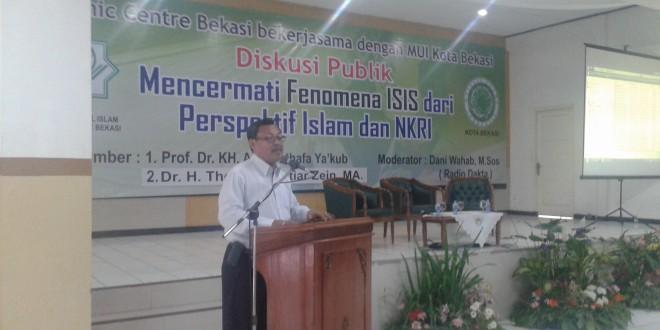 Kasat Intel Maryono: ISIS Harus Keluar dari Indonesia