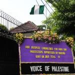 VOP Protes Kedubes Nigeria Atas Pembunuhan 33 Demonstran Pro Palestina