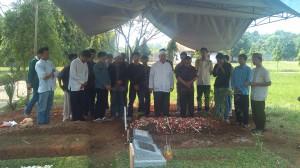 Syarifah Khadijah binti Umar Alaydrus di Pemakaman Wakaf Al-Muhdhor, Cimanggis