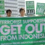 Tolak pendukung teroris