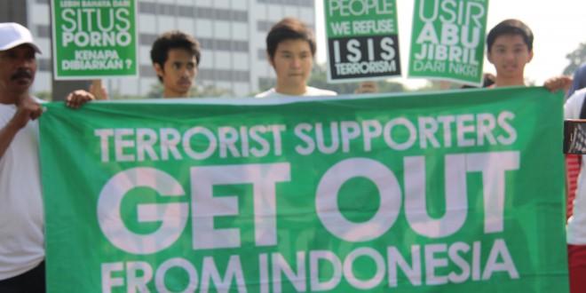 Kampanye Aliansi Nasionalis Tolak ISIS