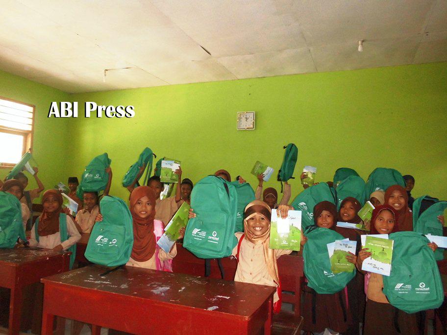 Bantuan RCTI Peduli bekerjasama dengan DPW ABI Sulawesi Tengah