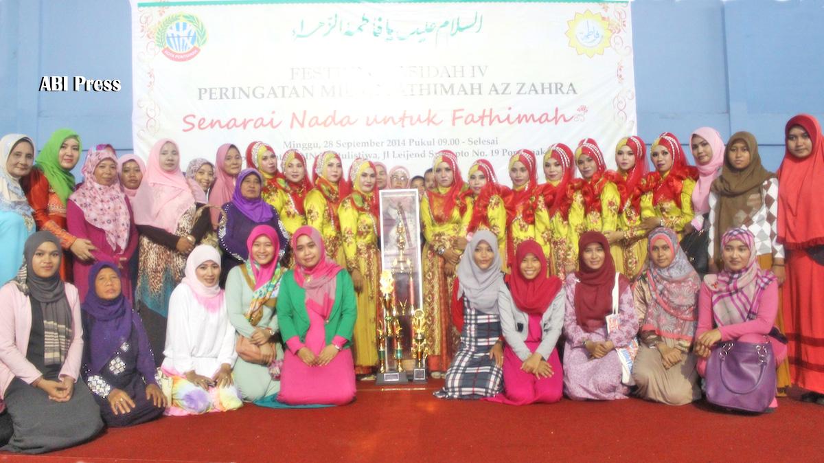 FestivalQasidah IV Pontianak Marakkan Wiladah Sayyidah Fathimah