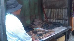 Sukito penjual Cobek di Jakarta