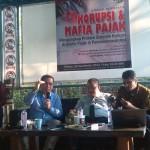 (dr kiri) Mujtahid Hashim, Yustinus Prastowo, Fahmi Syakir, Ahmad Taufik