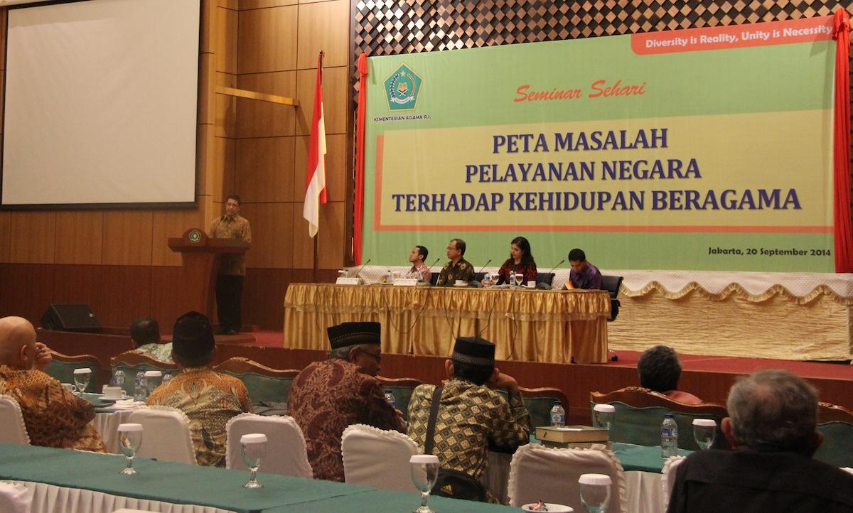 Seminar Sehari Kemenag: Refleksi Pertemuan FGD