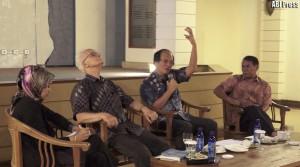 (dr kanan) Fachry Ali, Sudhamek AWS dan Franz Magnis Suseno