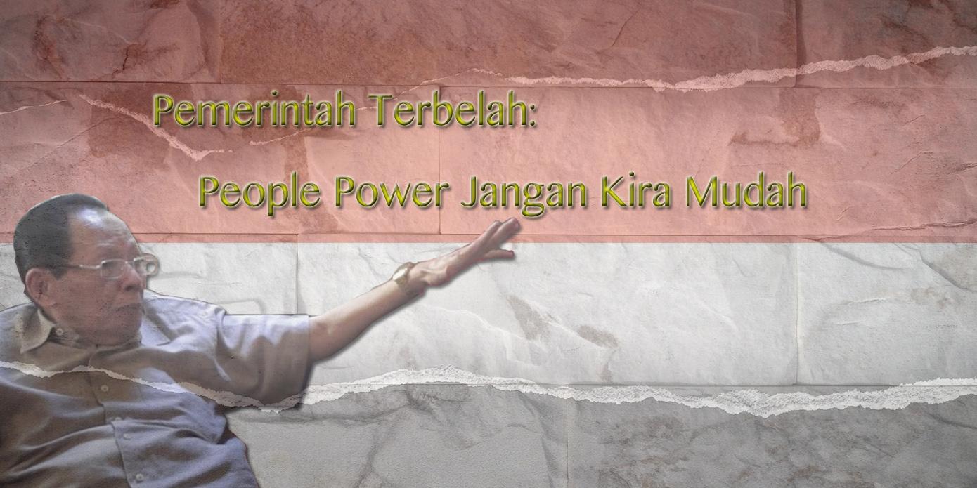 Rahman Tolleng: People Power Jangan Kira Mudah
