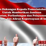 Pernyataan Dukungan Kepada Pemerintahan Joko Widodo-Jusuf Kalla