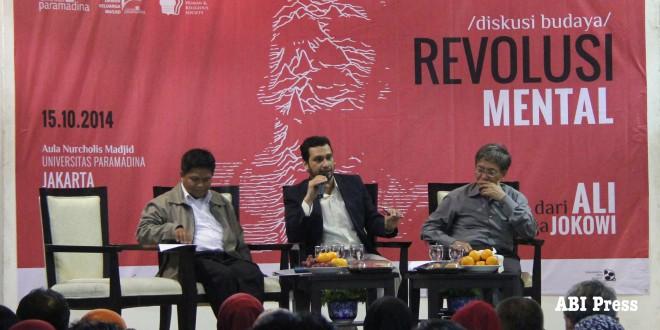 Diskusi Budaya: Revolusi Mental