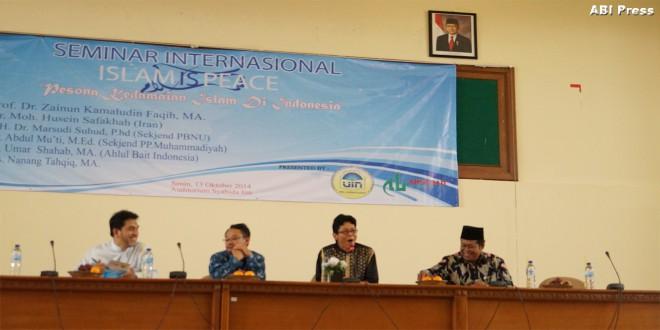 Seminar Internasional: Pesona Kedamaian Islam di Nusantara